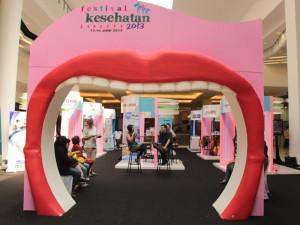 Talkshow interactive Festival Kesehatan Jakarta 2013 b